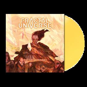 """Rhizomes of Insanity"" Light Yellow LP"
